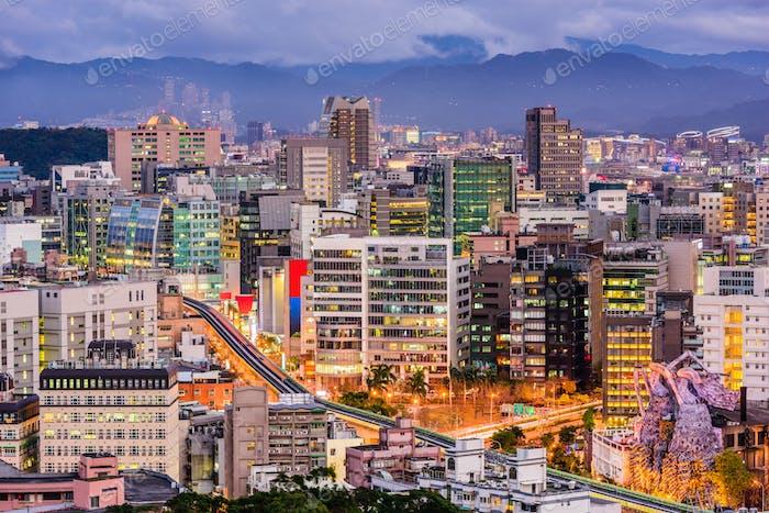 Tapei Taiwan Cityscape