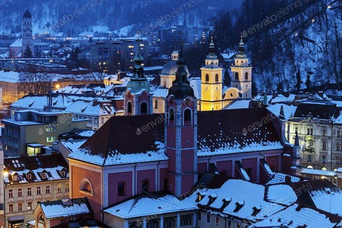 Nikolaus-Kathedrale und Franziskanerkirche