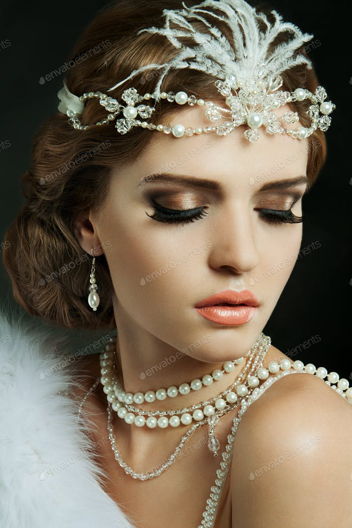 Beautiful bride. Wedding make up