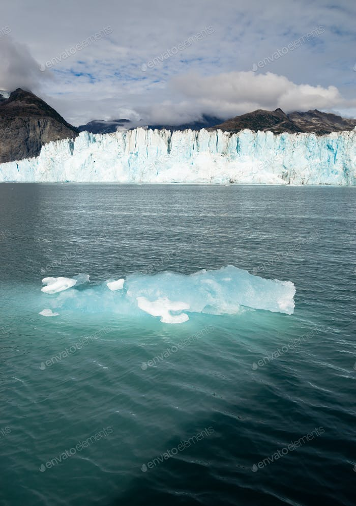 Iceburg Glacier Ice Water Surface Marine Landscape Aquatic Wilderness