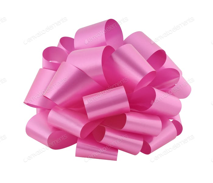 Pink Gift Bow