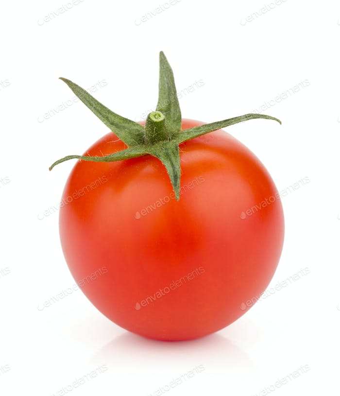 Small ripe tomato
