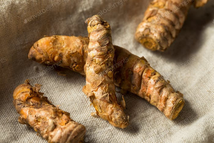 Raw Organic Orange Turmeric Root