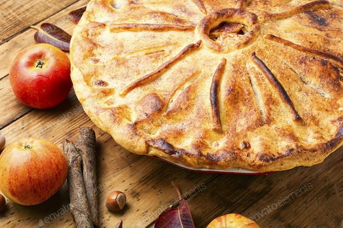 Hausgemachte Apfelkuchen