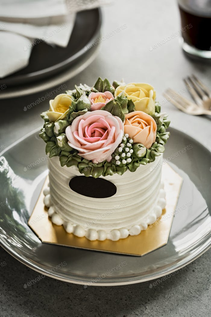 Butter creme cake