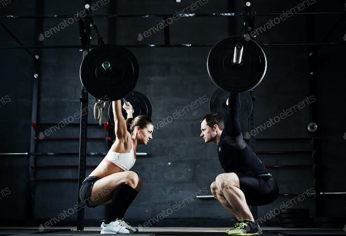 Weightlifting champions