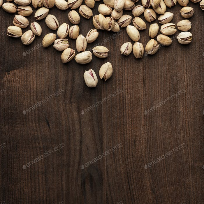 Pistachios Background