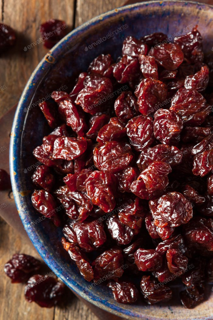 Organic Raw Dry Cherries