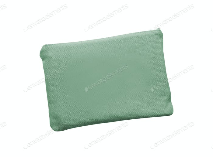 pocket purse bag on white background