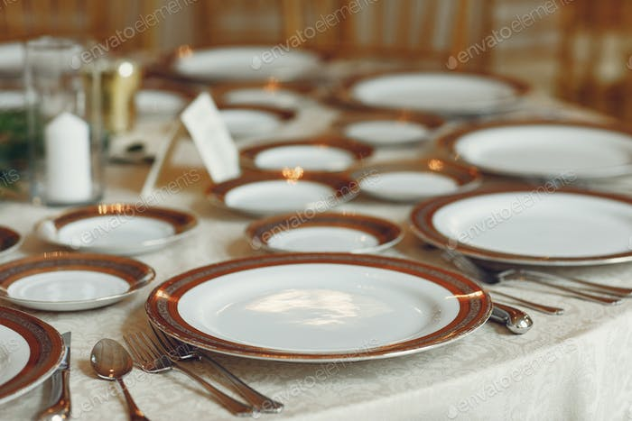 Elegante Hochzeitsgerichte