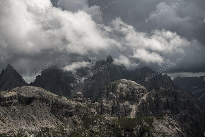Gebirge Cadini di Misurina