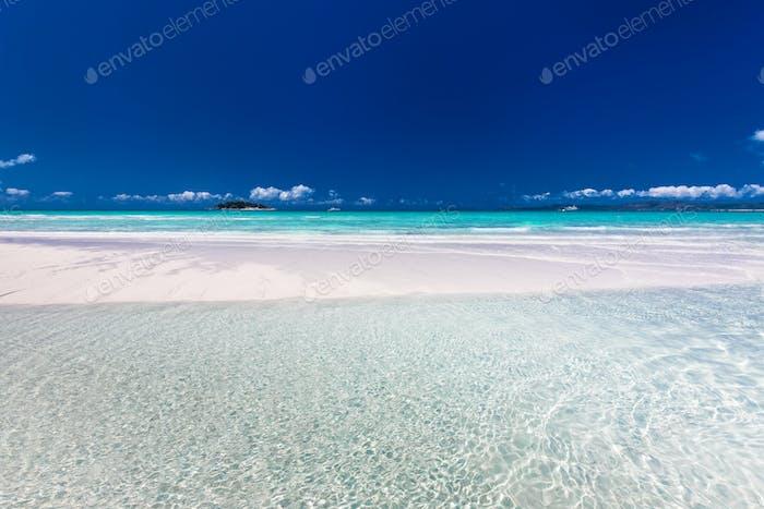 Amazing Whitehaven Beach in den Whitsunday Islands, Queensland,