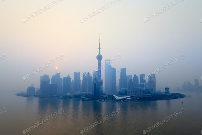 shanghai at morning