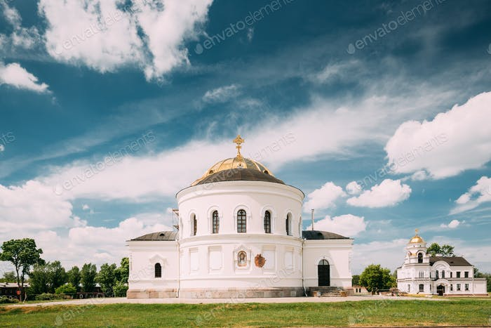 Brest, Belarus. Garrison Cathedral St. Nicholas Church In Memori