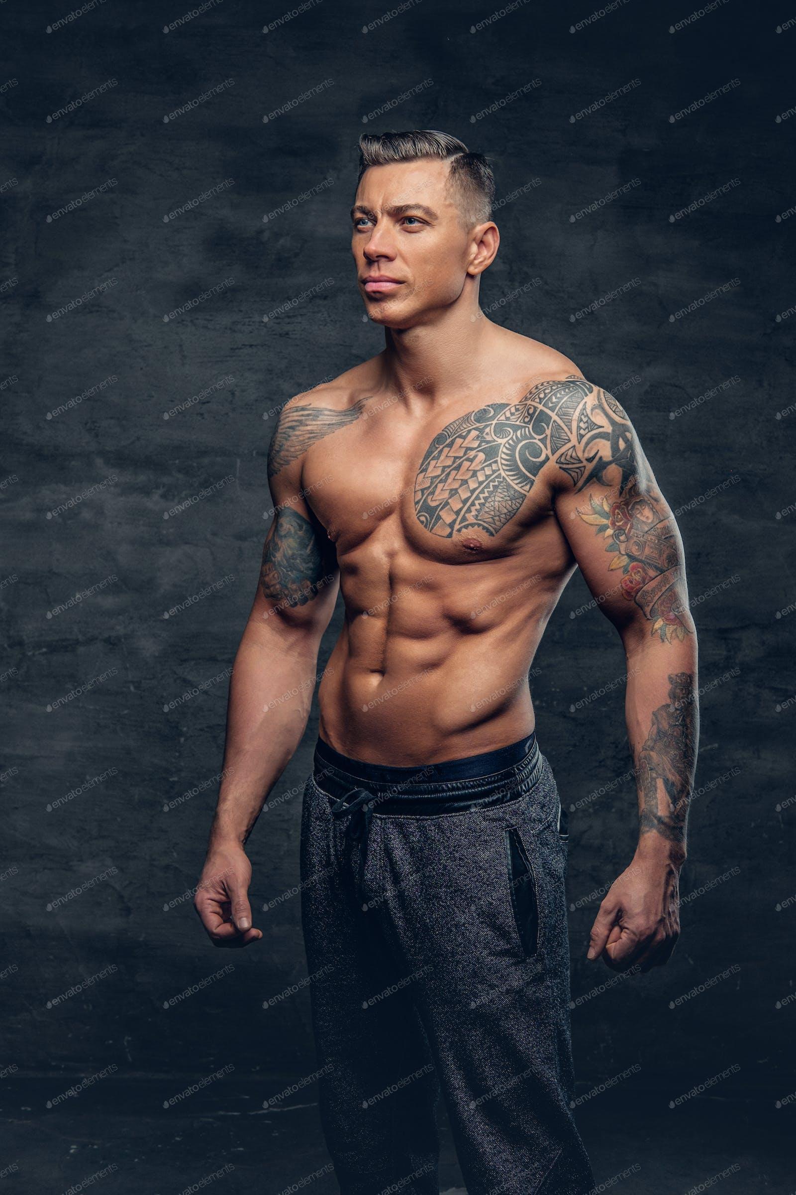 Tattoos muskulöse männer mit 110 Beste