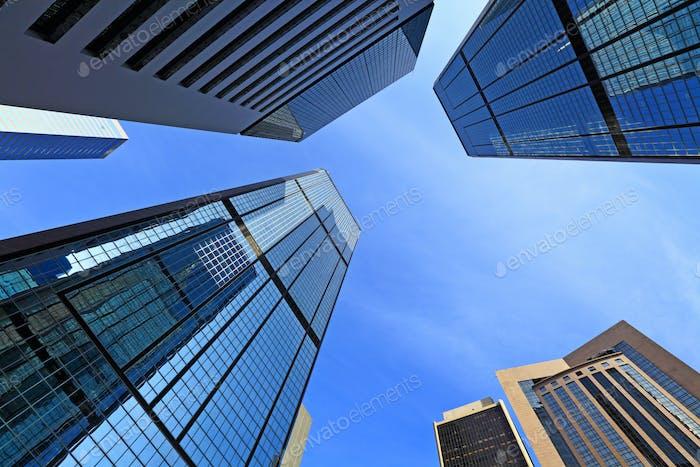 Rascacielos modernos