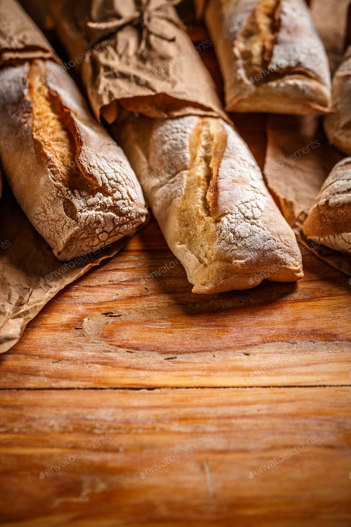 French bread baguettes