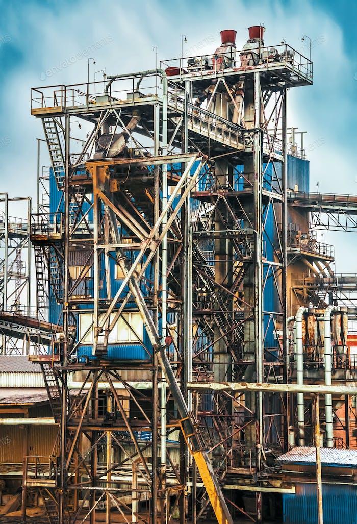 Alte Raffinerieanlage,
