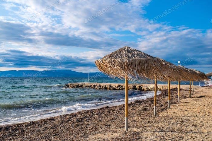 Erstaunliche Bucht von Korfu, Griechenland