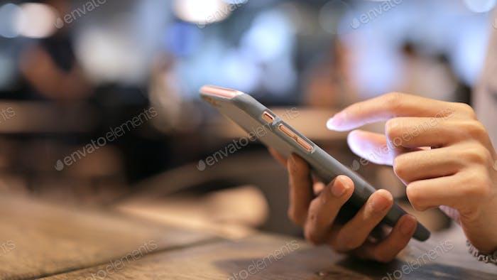 Uso del teléfono móvil