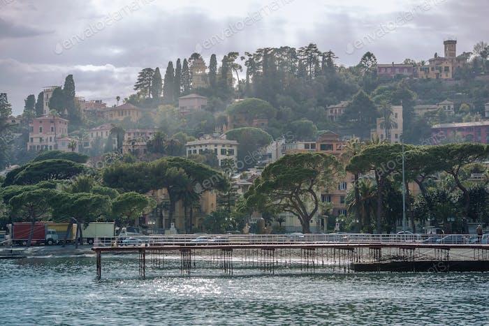 Italienische Riviera Ligurien Region