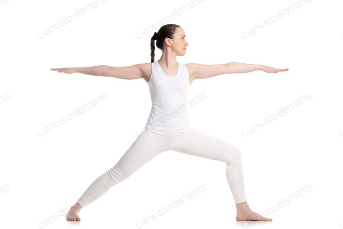 Yoga Warrior 2 Pose