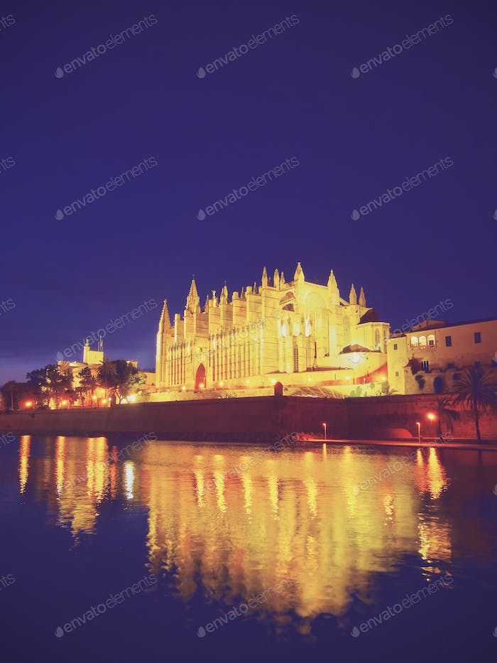Cathedral in Palma of Majorca