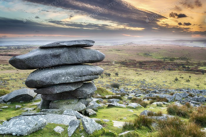 The Cheesewring in Cornwall