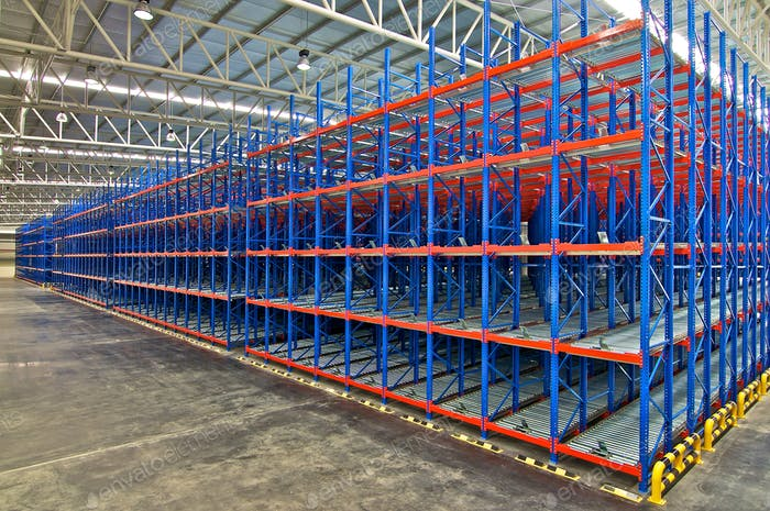 Warehouse industrial shelving storage systems