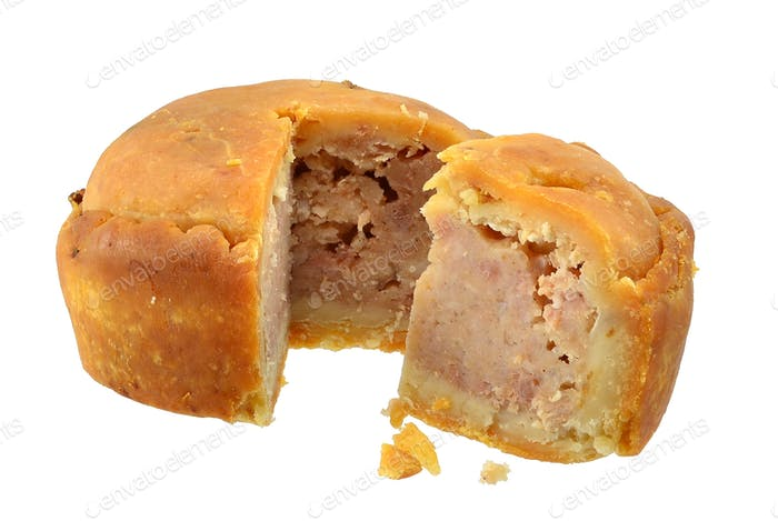 Pork Pie with Wedge