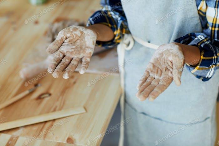 Hands after work