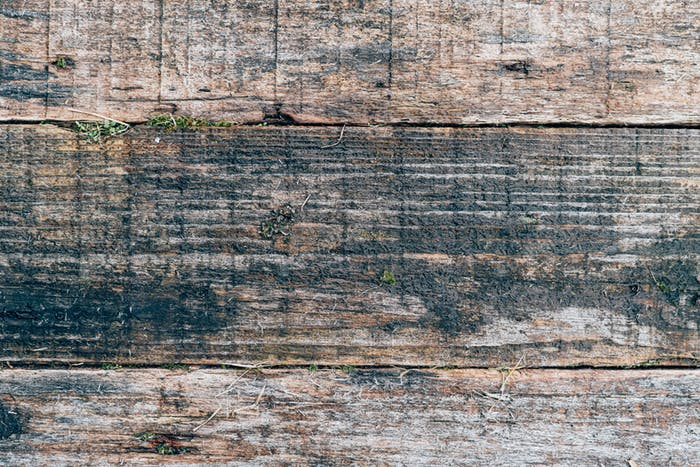 Old wood texture for web background, decrepit, rotten wooden backdrop