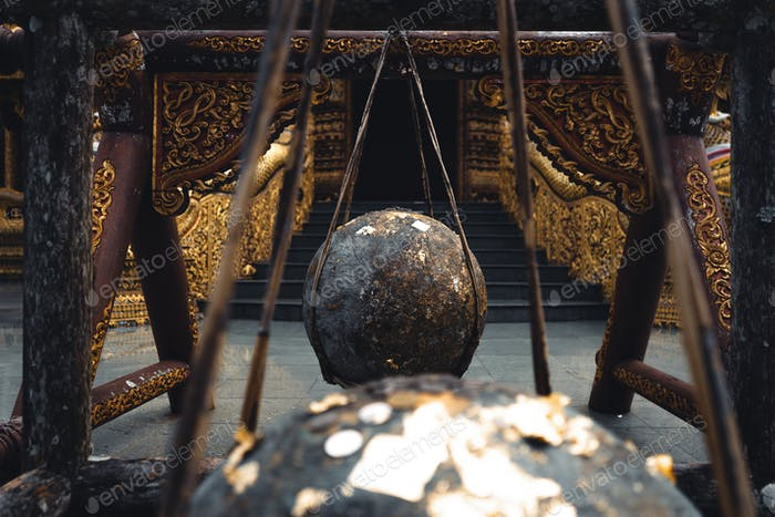 Wat Phra Buddhabat Si Roi,Golden Temple in Chiang Mai, Thailand