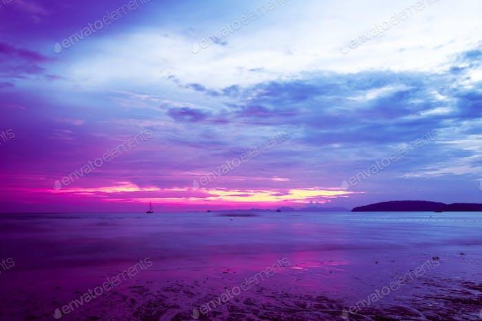 tropical beach in Krabi province