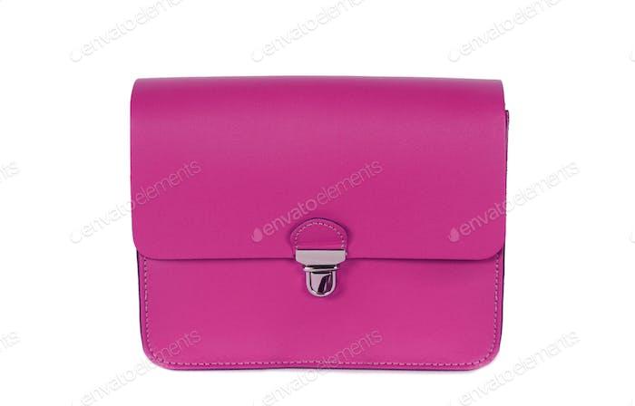 Pink women bag