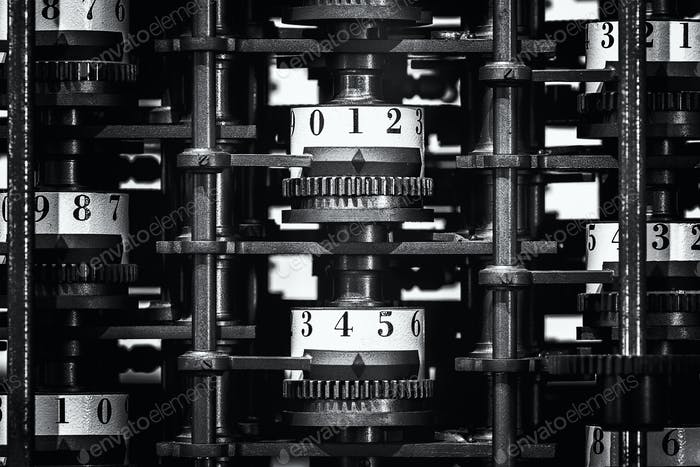 The interior structure of the Difference Engine