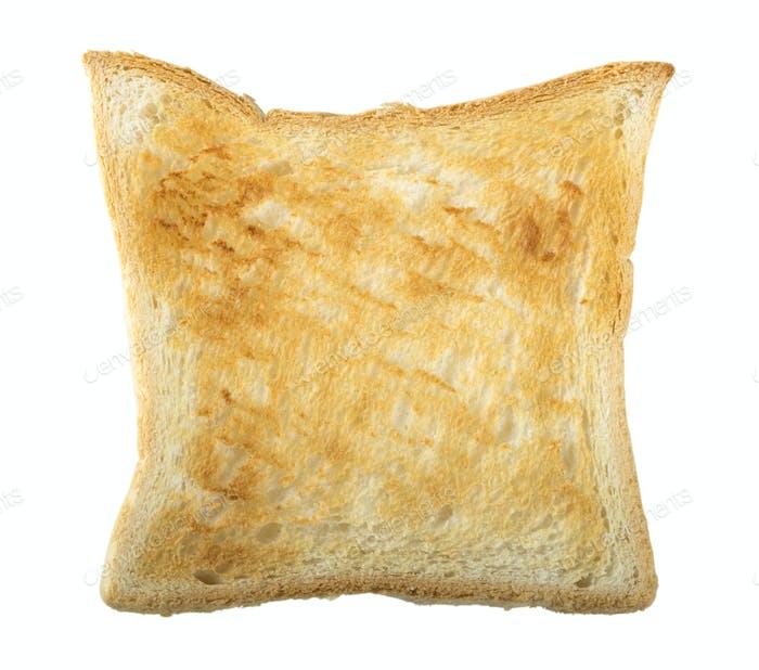 Lightly toasted