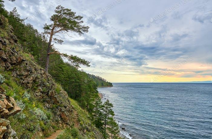 Baikal landscape