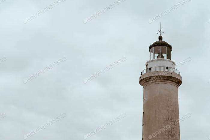 Lighthouse of Alexandroupolis city in Greece