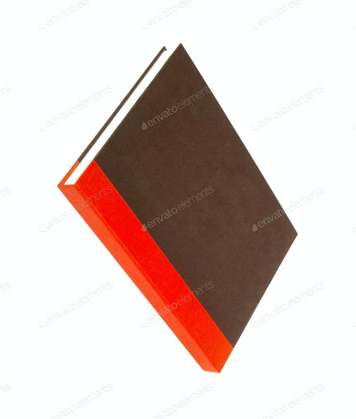 Red book with blank cover