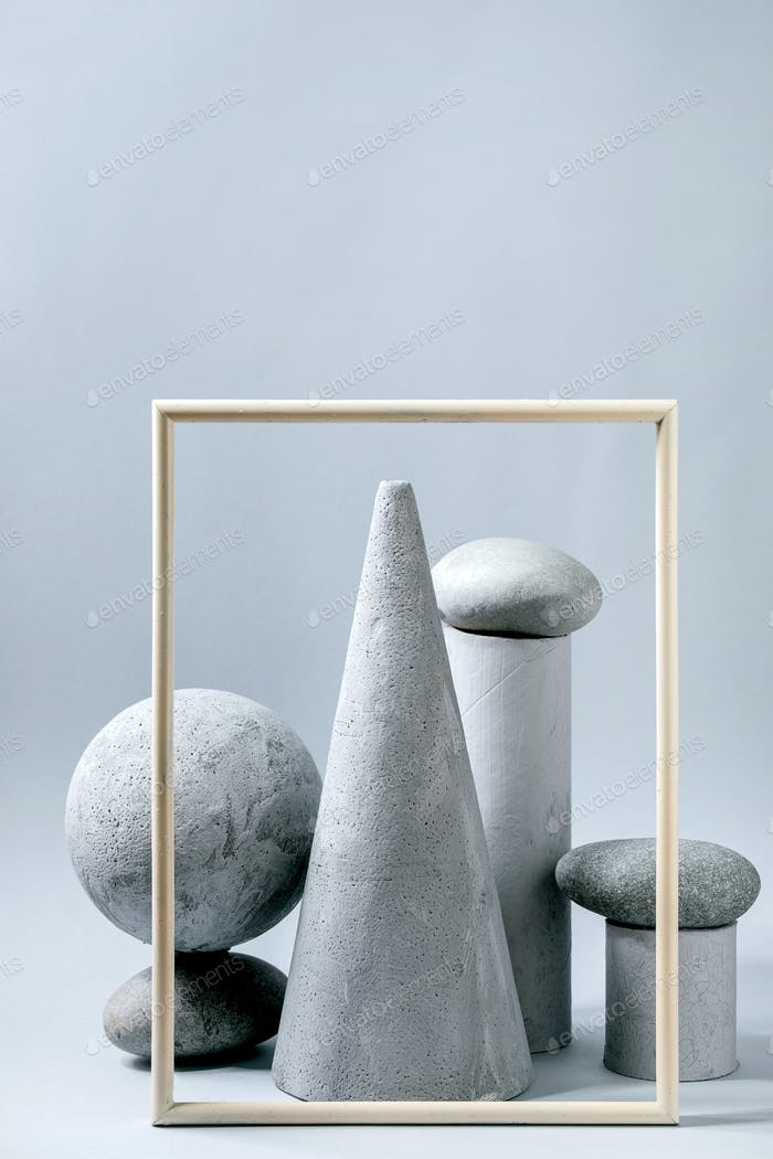 Geometric objects and stones
