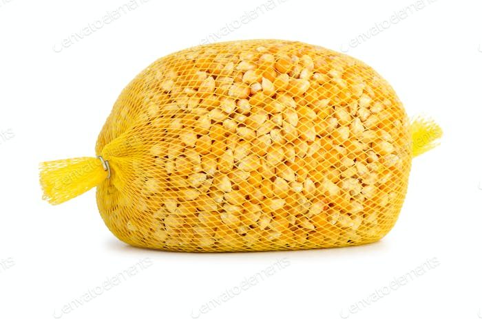 Thumbnail for Raw corn grains package for popcorn making