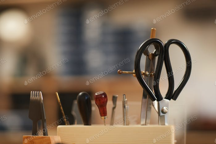 Handwerkswerkzeuge Nahaufnahme