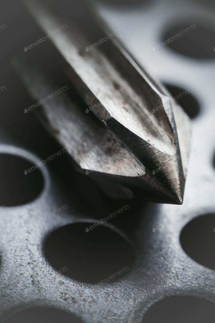 Bohr-Reibahle in der Werkswerkstatt