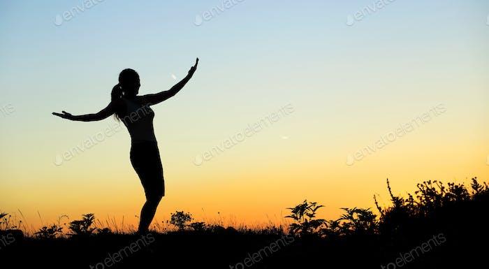 Mujer Estilo de vida saludable
