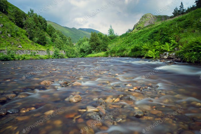 Small river in Scotland