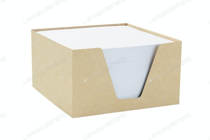 Box Of Memo Papers