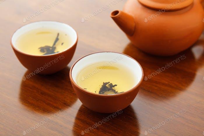 Chinesisches Tee-Getränk