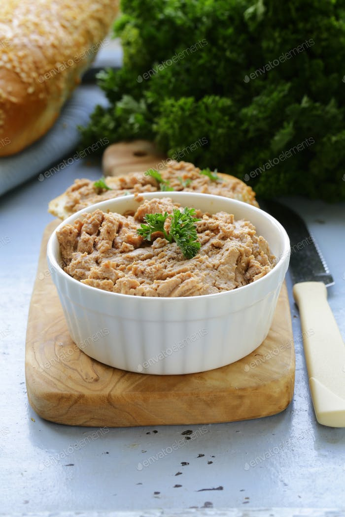Chicken Liver Pate with Parsley