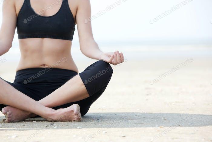 Yoga Lotus Position